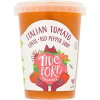 Tideford Organic Italian Tomato Soup with Red Pepper