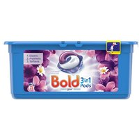 Bold 3in1 Washing Capsules Lavender & Camomile 25 Pack
