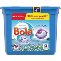 Bold 3in1 Washing Capsules Spring Awakening 25 Pack