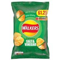 Walkers Salt & Vinegar Crisps Share Bag