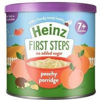Heinz 7 Month First Steps Peachy Porridge Tub