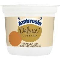 Ambrosia Deluxe Custard Vanilla with Salted Caramel Pot