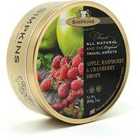 Simpkins Apple. Raspberry & Cranberry Drops