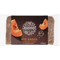 Biona Organic Rye Pumpkin Seed Bread