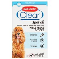 Bob Martin Spot-On Flea and Tick Treatment - Medium Dogs