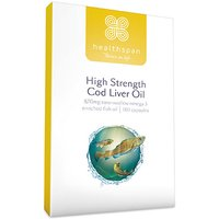 Healthspan High Strength Cod Liver Oil 570mg 360 Capsules