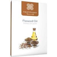 Healthspan Flaxseed 1000mg 120 Capsules
