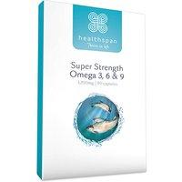 Healthspan Super Strength Omega 3 6 & 9 90 Capsules