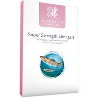 Healthspan Super Strength Omega 3 600mg 160 Capsules