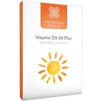 Healthspan Vitamin D3 50 Plus 180 Capsules