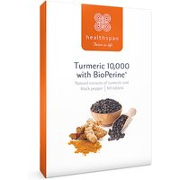 Healthspan Tumeric with Bioperine 60 Tablets