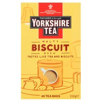 Yorkshire Tea Biscuit Brew 40 Pack
