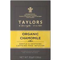 Taylors Organic Chamomile 20 Tagged Teabags