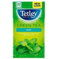 Tetley Green Tea with Mint 20s