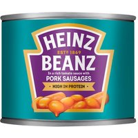 Heinz Baked Beans and Pork Sausages