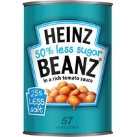 'Heinz Reduced Sugar Baked Beans