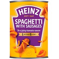 Heinz Spaghetti and Sausages Large Size