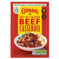Colmans Beef Casserole Mix Sachet