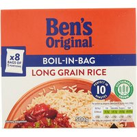 Uncle Bens BiB Long Grain Rice