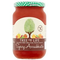 Tree Of Life Organic & Gluten Free Spicy Arrabbiata Pasta Sauce