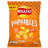 Walkers Poppables Cheddar Cheese Snacks