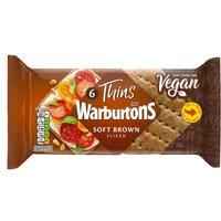 Warburtons 6 Sandwich Thins Brown