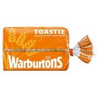 Warburtons Toastie White Bread Small