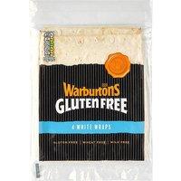Warburtons Gluten Free 4 White Wraps