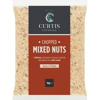 Curtis / Whitworths Chopped Mixed Nuts 1kg