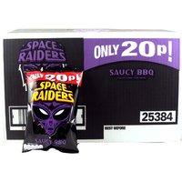 Space Raiders Saucy BBQ Flavour Cosmic Corn Snacks 36 x 20g