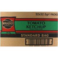 Walkers Crisps Tomato Ketchup x 32