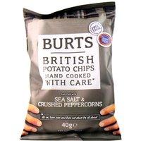 Burts Salt And Black Pepper Potato Chips X20