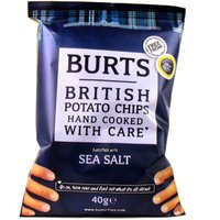 Burts Sea Salt Potato Chips X20
