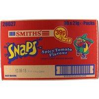Smiths Spicy Tomato Snaps Pm 39P - 30 x 21g