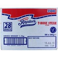 Roysters Tbone Steak - 28 x 21g