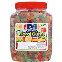 Squirrel Floral Gums Jar