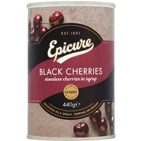Epicure Black Cherries In Syrup