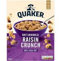 Quaker Oat Granola Raisin