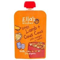 Ellas Kitchen 7 Month Zingy Lamb Cous Cous with Apricots & Raisins