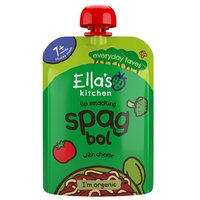 Ellas Kitchen 7 Month Organic Spag Bol with a Sprinkle of Cheese