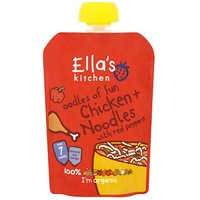 Ellas Kitchen 7 Month Oodles of Fun Chicken & Noodles with Red Peppers