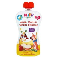Hipp 6 Month Organic Cherry Apple & Banana Breakfast Pouch