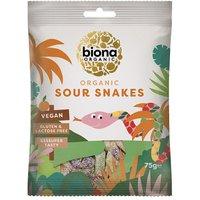 Biona Organic Vegan Sweets Sour Snakes