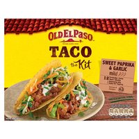 Old El Paso Crunchy Taco Kit Garlic & Paprika