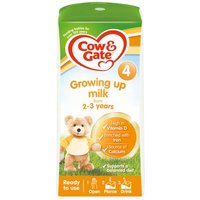 Cow & Gate Growing Up Milk 2-3 Years Ready To Use