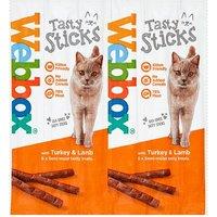 Webbox Cats Delight 6 Tasty Sticks Turkey & Lamb