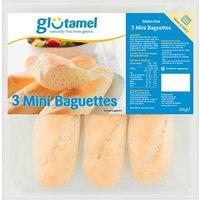 Glutamel Part Baked Baguettes 3 Pack