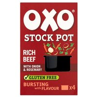 Oxo Stock Pots 4 Pack Beef