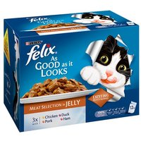 Felix As Good As It Looks Meat Selection Variety 12 Pack