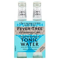 Fever-Tree Refreshingly Light Mediterranean Tonic Water 4 Pack